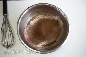 Шоколадная молочная девочка: Замесить тесто