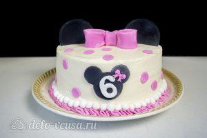 Шоколадная молочная девочка:Декорировать торт