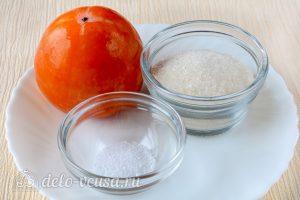Варенье из хурмы: Ингредиенты