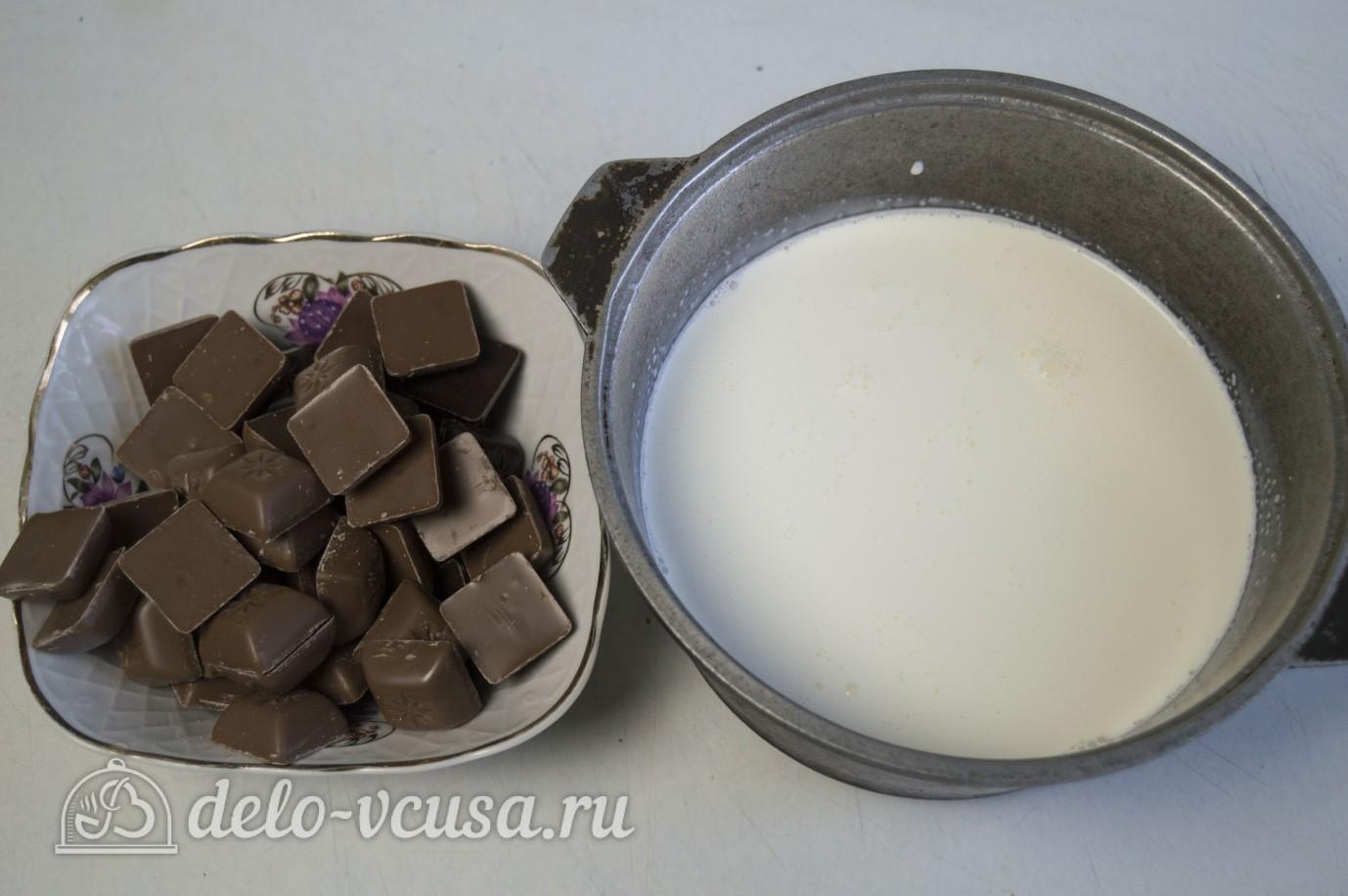 Взбитый шоколадный ганаш: Ингредиенты