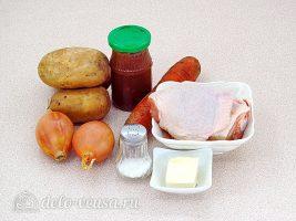 Курица с картошкой в банке: Ингредиенты