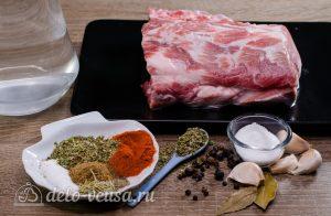 Буженина в духовке: Ингредиенты