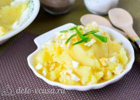 Картофельная начинка для пирожков с яйцом