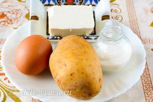 Картофельная начинка для пирожков с яйцом: Ингредиенты