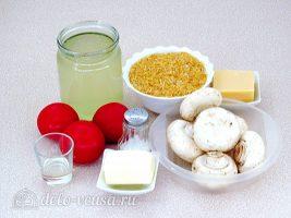 Рис по-милански: Ингредиенты
