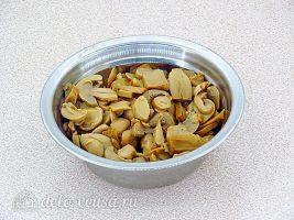 Рис по-милански: Подготовить грибы
