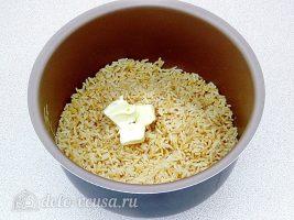 Рис по-милански: Добавить масло