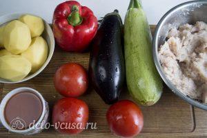 Фрикадельки в духовке с овощами: Ингредиенты