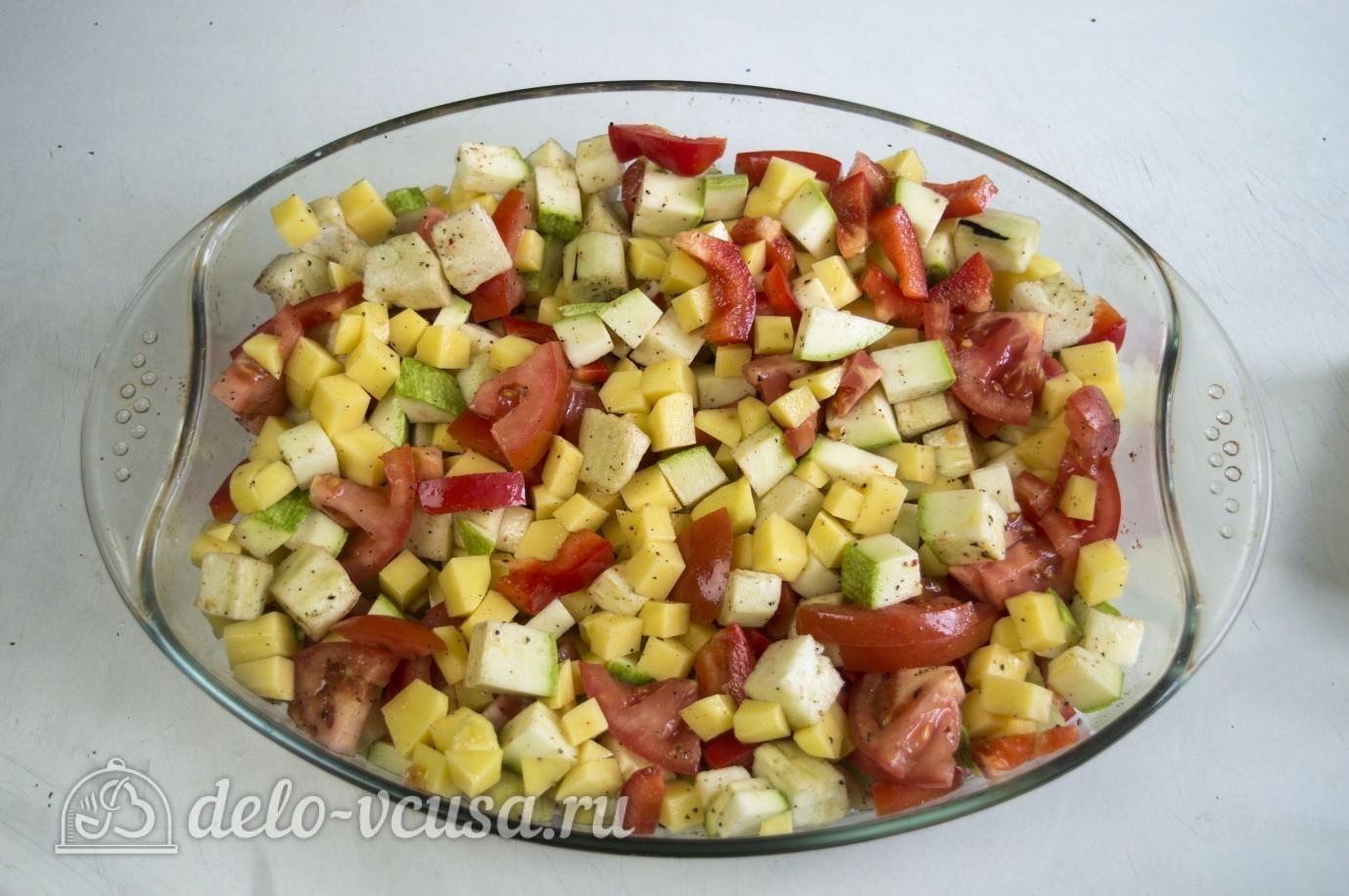 Фарш с овощами в духовке рецепты с фото