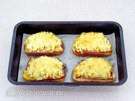 Горячие бутерброды с ананасом: Запекаем в духовке