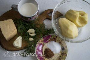 Гратен из картофеля: Ингредиенты