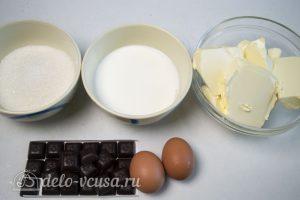 Крем Шарлотт шоколадный: Ингредиенты