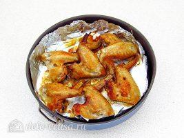 Крылышки гриль в соевом соусе готовы