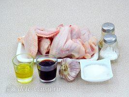 Крылышки гриль в соевом соусе: Ингредиенты