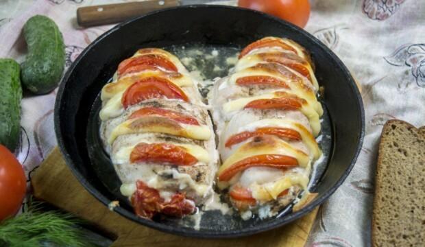 Скумбрия с сыром в духовке рецепт с фото