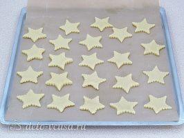 Песочное печенье на маргарине% Сформировать печенье