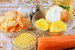 Суп из квашеной капусты: Ингредиенты