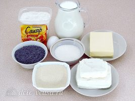 Маковый творожник: Ингредиенты