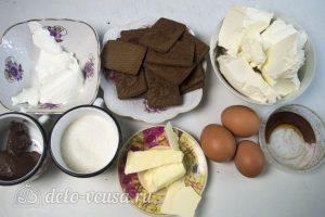 Чизкейк с Нутеллой: Ингредиенты