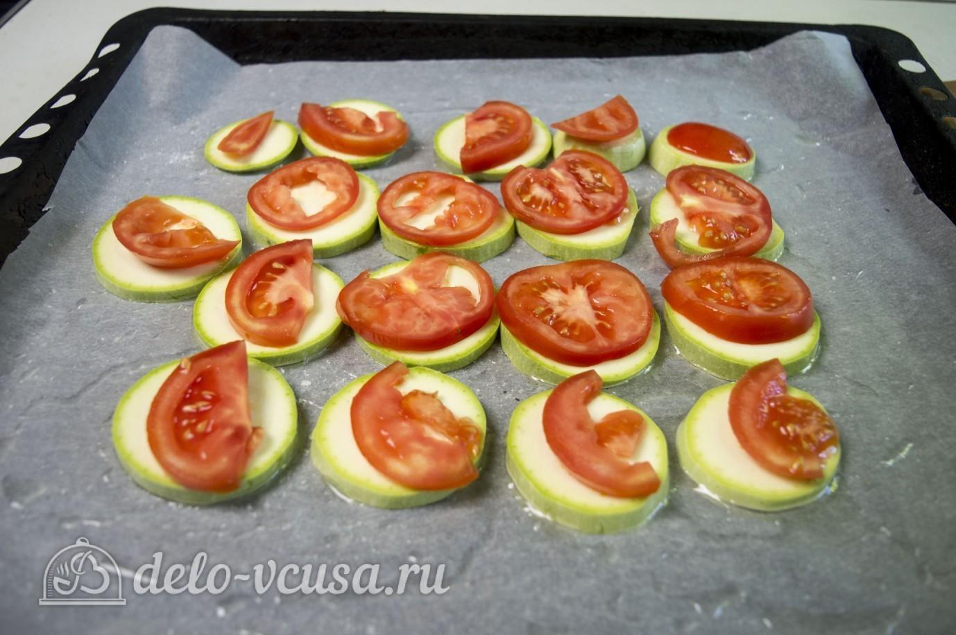 Рецепт запекать кабачки в духовке с сыром и помидорами