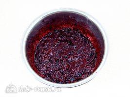 Кисель из черники: Размять ягоды