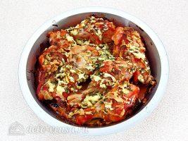 Куриные голени в духовке с кетчупом: Запекать голени в духовке