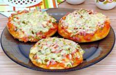 Мини-пицца в духовке