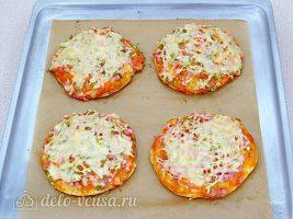 Мини-пицца в духовке готова