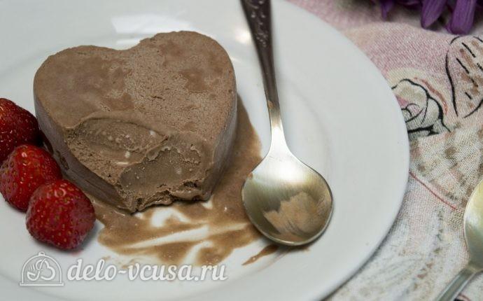 Мороженое с нутеллой