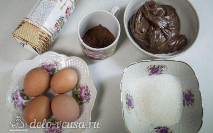 Мороженое с нутеллой: Ингредиенты