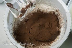 Мороженое с нутеллой: Добавить какао