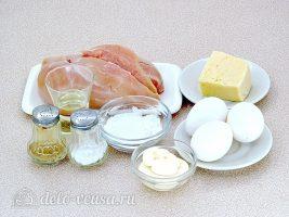 Нежные куриные котлеты: Ингредиенты