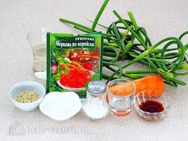 Салат из чесночных стрелок: Ингредиенты