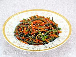 Салат из чесночных стрелок готов