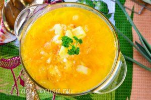 Суп из квашеной капусты готов