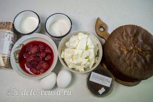 Торт с чизкейком внутри: Ингредиенты
