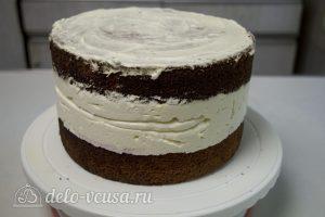 Торт с чизкейком внутри: Снимите кольцо