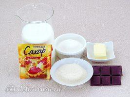 Шоколадно-молочный мусс: Ингредиенты