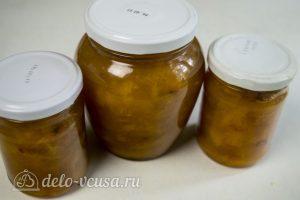 Абрикосовое варенье с апельсином готово