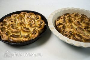 Пирог Хризантема: Запекать в духовке