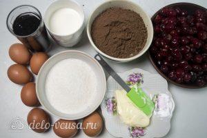 Шоколадный торт с вишней: Ингредиенты