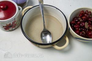 Торт Медовые соты с вишней: Приготовить сироп