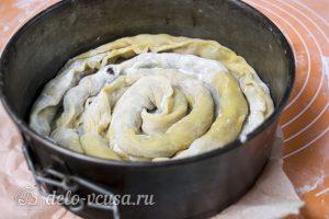 Торт Медовые соты с вишней: Испечь трубочки в форме