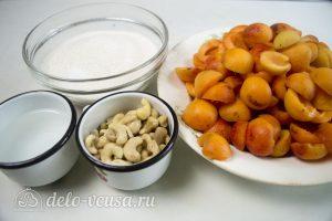 Абрикосовое варенье с орехами: Ингредиенты
