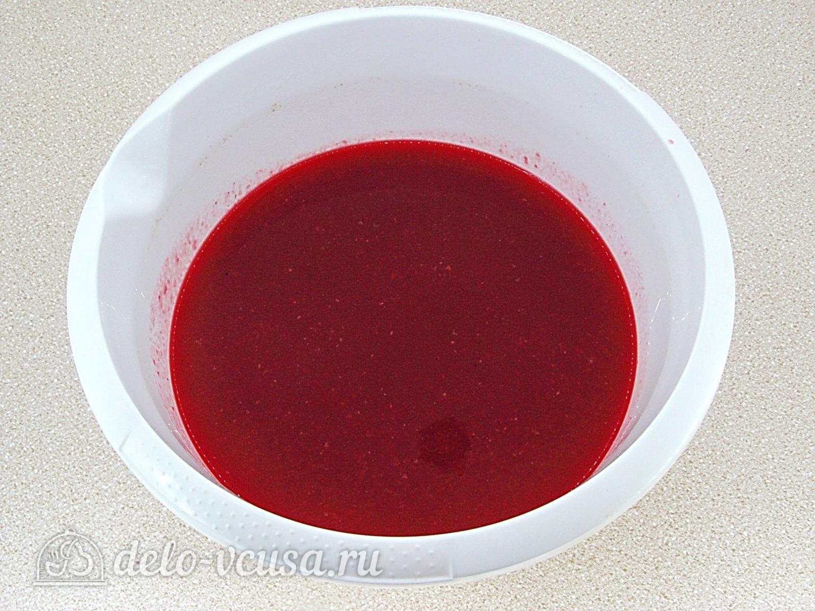Повидло из красной смородины: Протереть ягоды