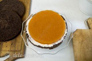 Абрикосовый торт: Собрать торт