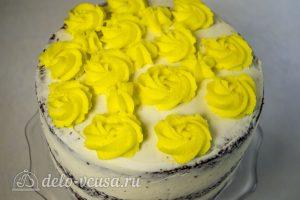 Абрикосовый торт: Украсить торт