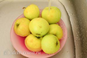 Варенье из яблок на зиму: Вымойте яблоки