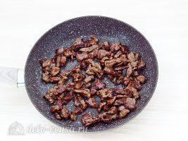 Классический рецепт бефстроганов:Обжарить мясо
