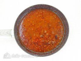 Бефстроганов с грибами: Тушить соус